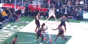 NBA – Top 5 : Giannis fait de la raquette des Raptors son terrain de jeu