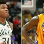 NBA – Giannis tout proche de battre un record vieux de 21 ans appartenant au Shaq !