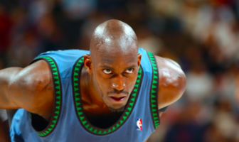 Kevin Garnett trash-talking