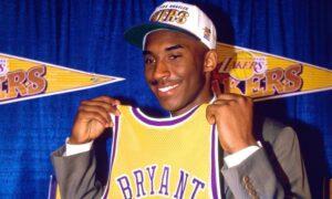 NBA – Comment Kobe a tout fait différemment le soir de sa Draft