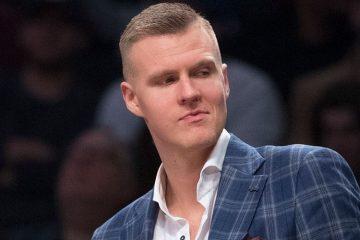Kristaps Porzingis, basketteur letton évoluant en NBA