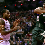 NBA – Giannis Antetokounmpo a célébré trop vite contre les Raptors