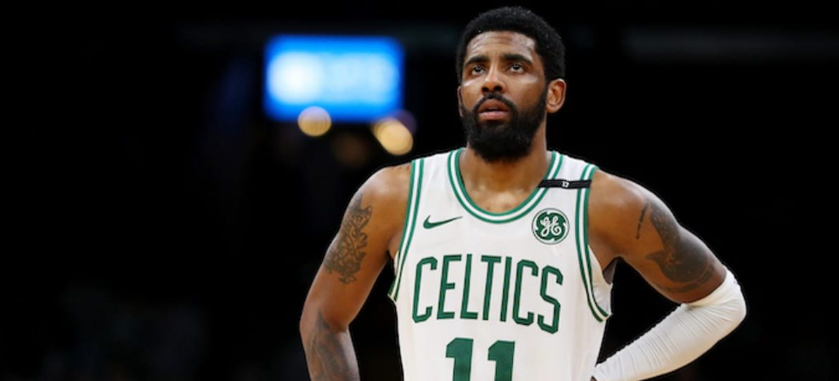 Kyrie Irving fail conference de presse