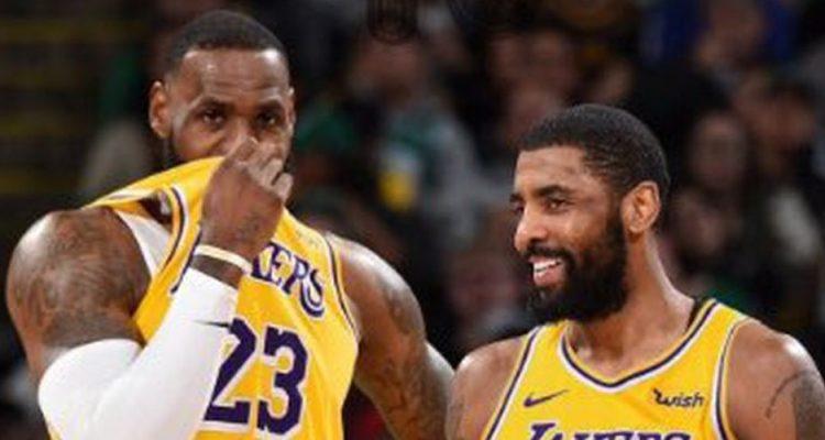 LeBron a rencontré 2 stars pour les Lakers