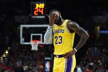 LeBron James dépité à Los Angeles