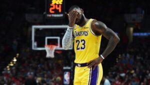 NBA – Le joueur des Lakers à la ramasse cette saison
