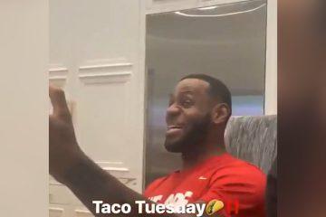 lebron james tacos tuesday