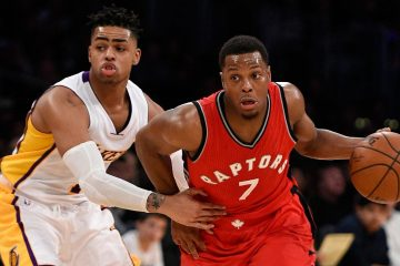 Kyle Lowry et D'Angelo Russell