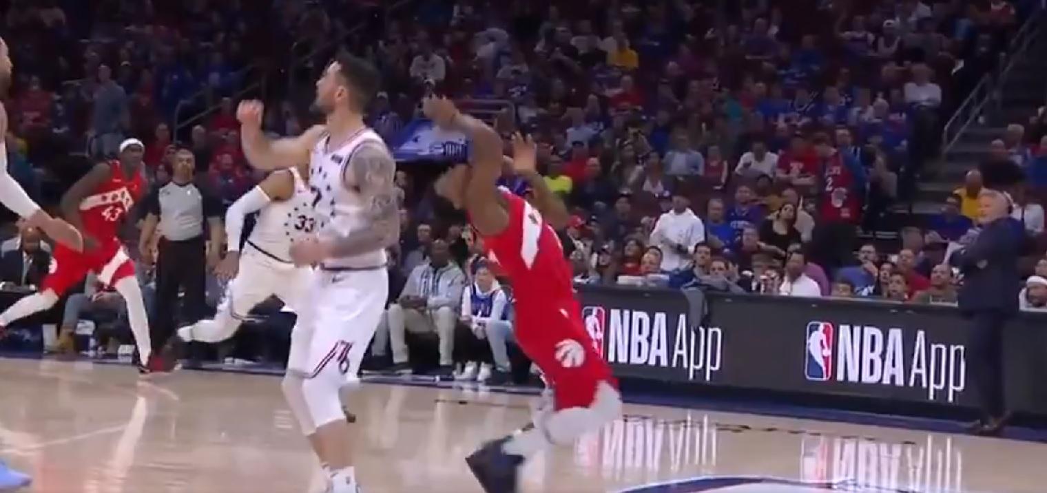 Kyle Lowry face aux Sixers