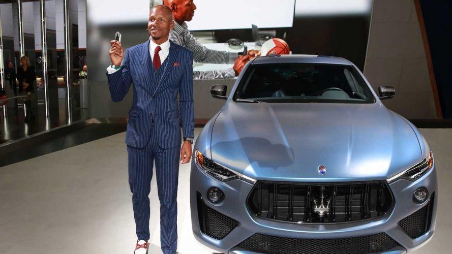 Une Maserati pour Ray Allen