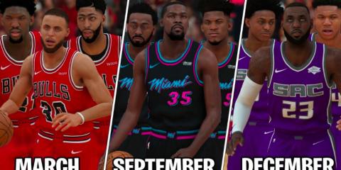 meilleures équipes NBA mois année