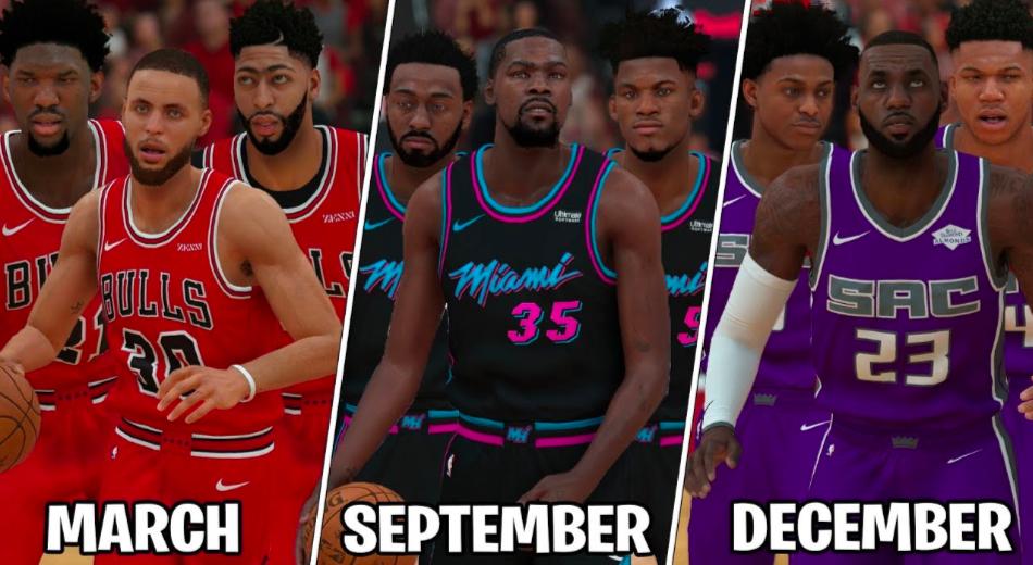 regard détaillé bc691 e3ca8 NBA - Quelle est la meilleure équipe selon votre mois de ...