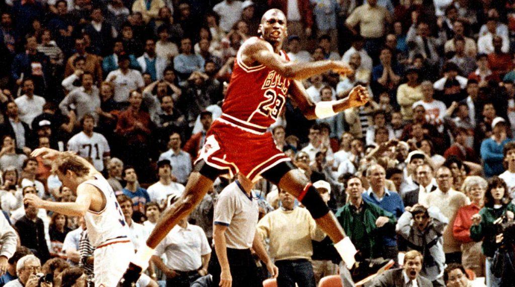 Michael Jordan cthe Shot