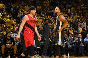 Seth et Steph Curry au duel pendant les playoffs