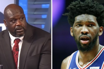 joel embiid malade shaquille o'neal