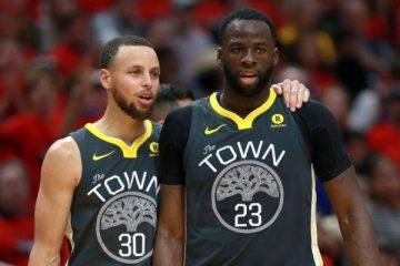 Une première dans l'histoire pour Curry et Green