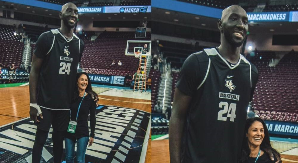 Tacko Fall plus grand que tout le monde