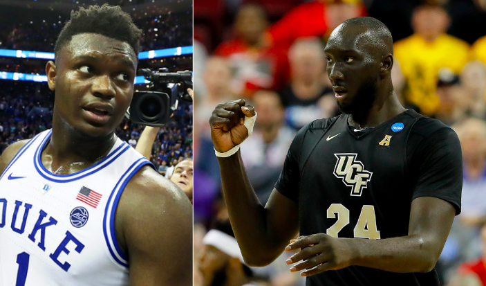 Zion Williamson et Tacko Fall