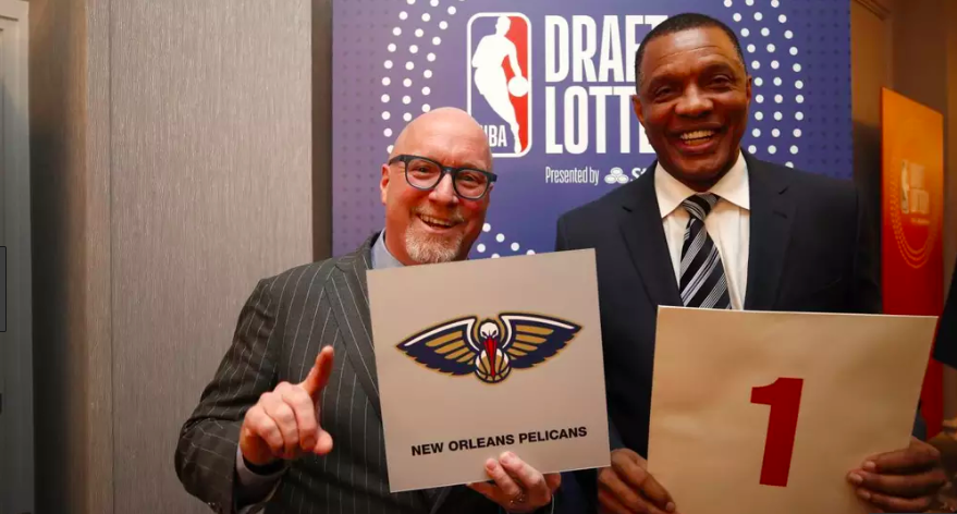 Alvin Gentry réagit à l'obtention du first pick