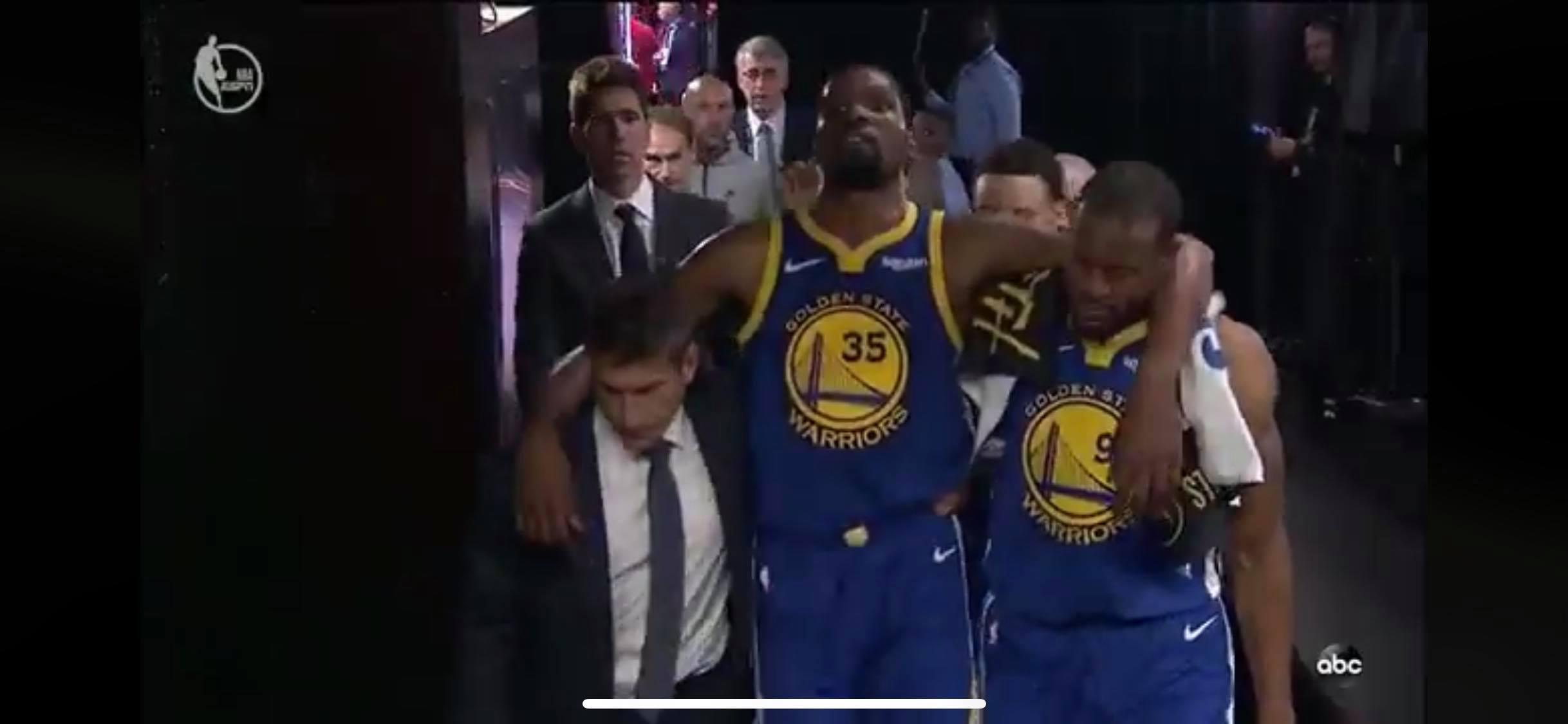 Kevin Durant blessé