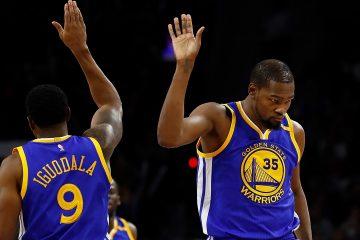 Andre Iguodala a conseillé à Kevin Durant de ne pas jouer lors du game 5 pour ne pas compromettre la suite de sa carrière