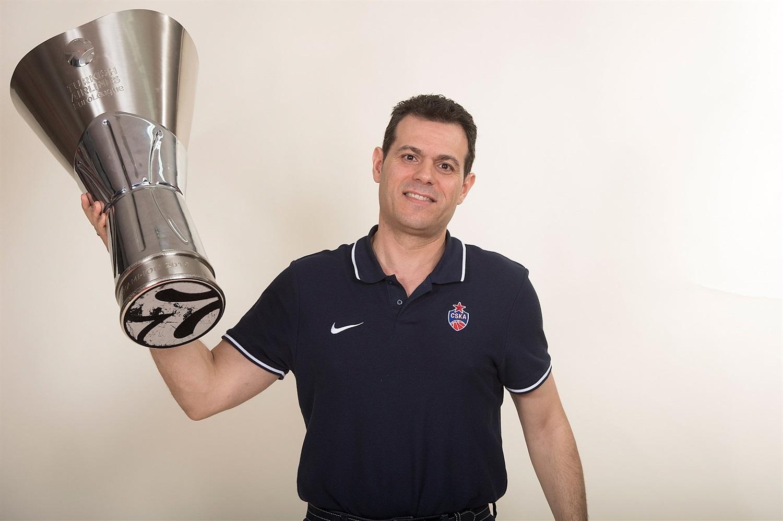 Itoudis sera aux commandes du CSKA jusqu'en 2021