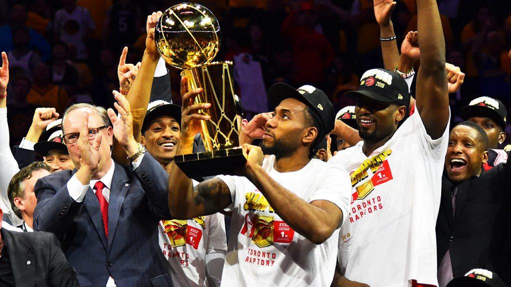 Nike célèbre le titre des Raptors
