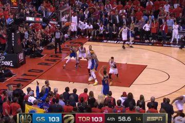 Le Top 5 du Game 5 des Finales entre les Warriors et les Raptors