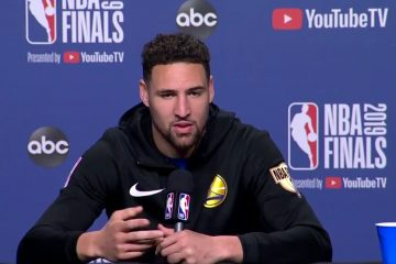 Klay Thompson s'est exprimé en conférence de presse sur la possible fin de la dynastie des Warriors