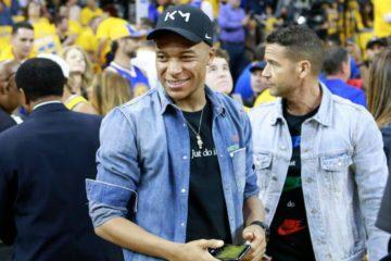 Kylian Mbappe était présent à l'Oracle Arena cette nuit pour le game 6 des Finales entre les Warriors et les Raptors