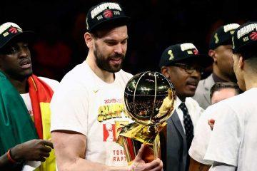 Pau et Merc Gasol sont devenus la première fratrie à remporter un titre NBA