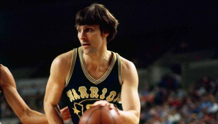 Rick Barry sous le maillot des Warriors
