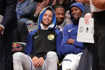 Curry Durant bench
