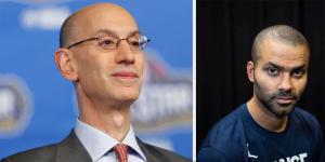 NBA – Adam Silver rend un vibrant hommage à Tony Parker