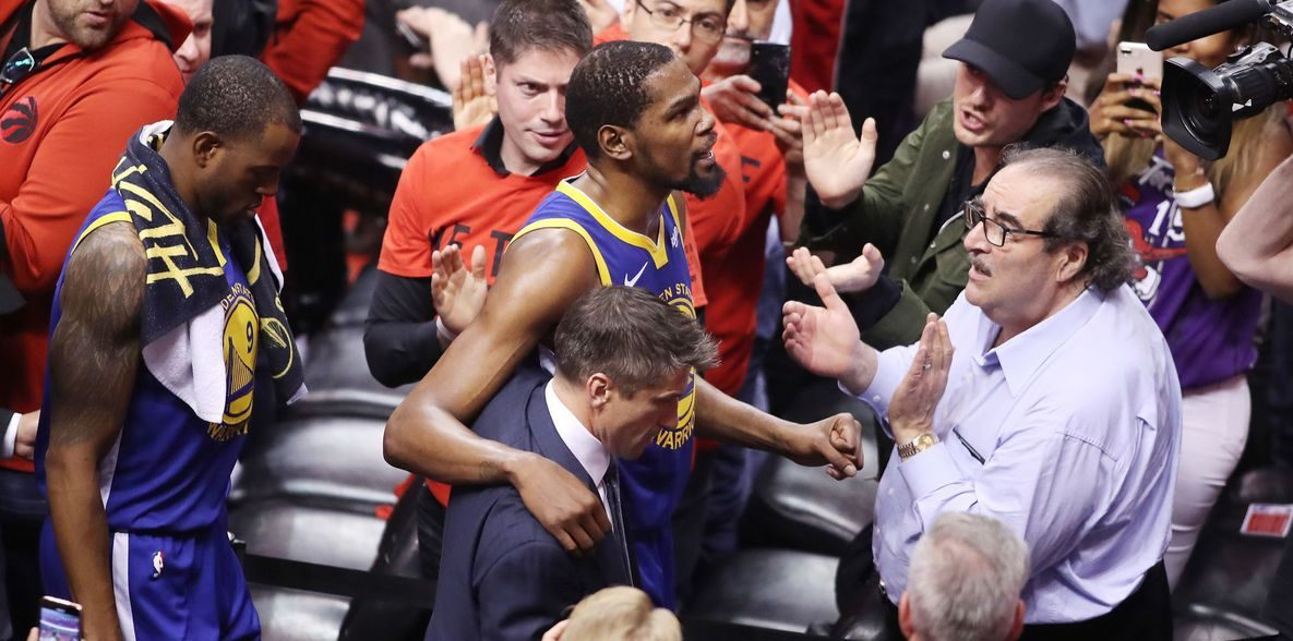 Kevin Durant quitte Toronto