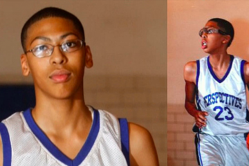 Anthony Davis jeune nba