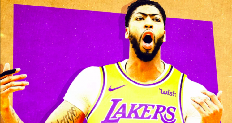 anthony davis lakers nba numero