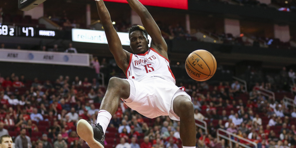 clint capela houston rockets dunk