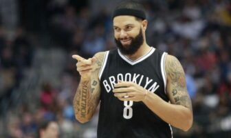 Deron Williams sous le maillot des Brooklyn Nets