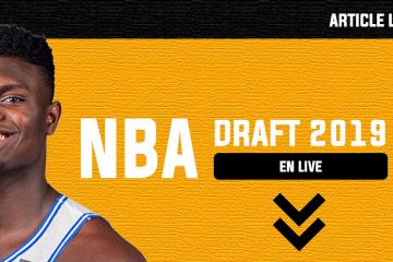 Draft NBA 2019 live pick choix transfert trade
