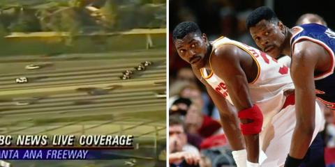 Le Game 5 des Finales de 1994 a été plusieurs fois interrompu par une course-pousuite filmée en direct