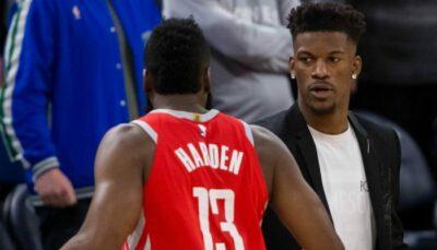 NBA – Jimmy Butler réagit à la rumeur Harden au Heat