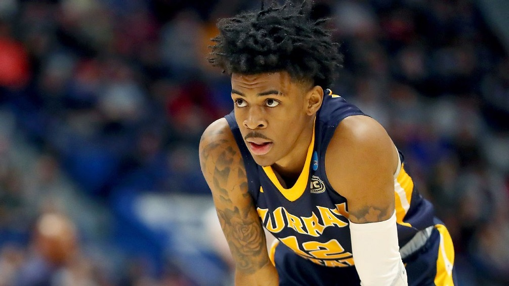 ja morant draft 2019 grizzlies knicks