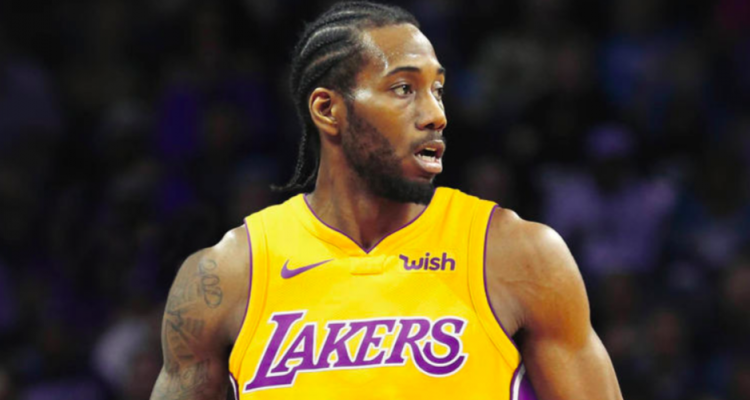 kawhi leonard los angeles lakers
