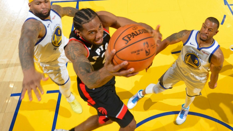 kawhi leonard toronto raptors warriors golden state finales