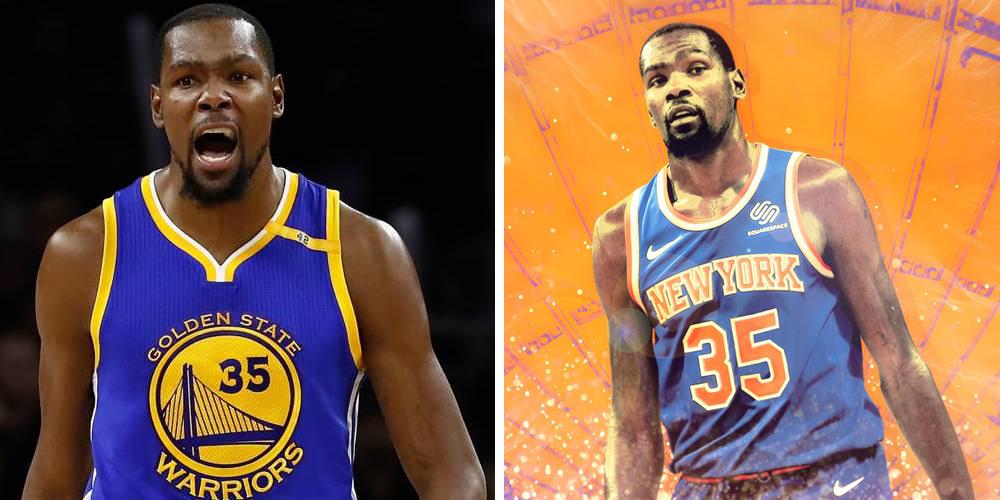 Kevin Durant très partagé sur la free agency 2019 entre les Warriors et les Knicks