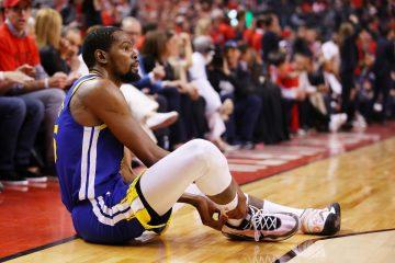 Kevin Durant de nouveau blessé après le Game 5