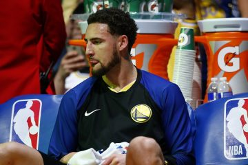 klay thompson blessure golden state warriors toronto raptors