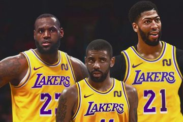 LeBron James Anthony Davis Kyrie Irving Lakers