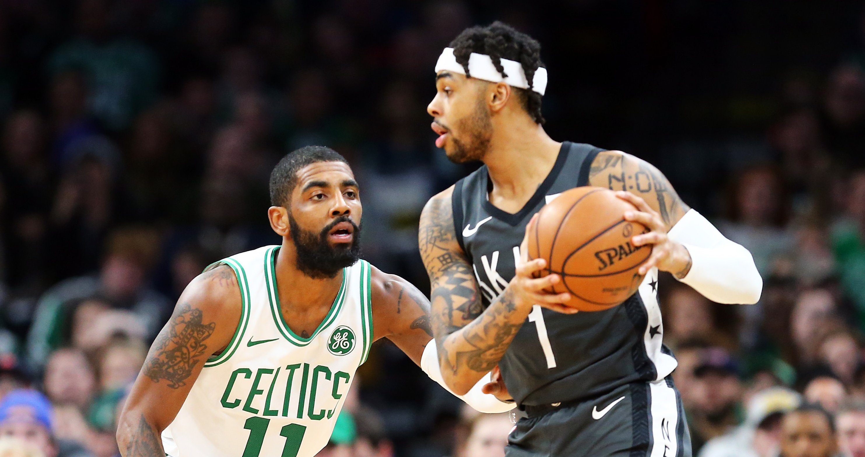 Kyrie Irving et D'Angelo Russell